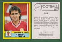 Manchester United Arthur Albiston Scotland 169